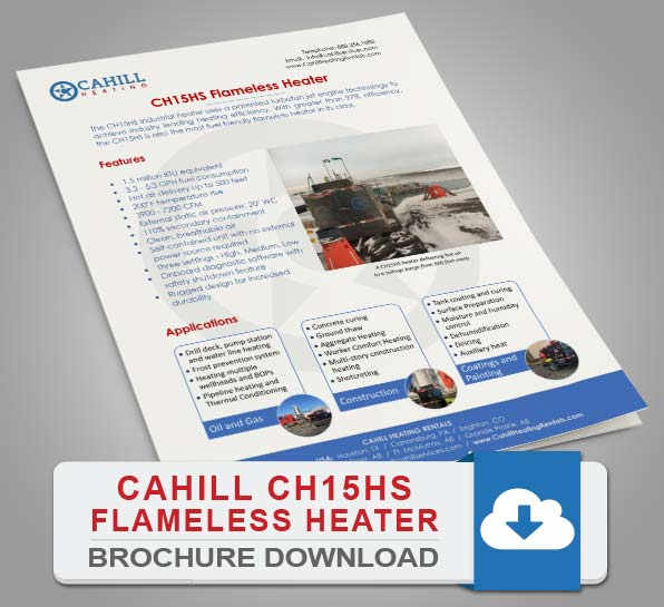 Cahill CH15HS Portable Heating - Brochure Download