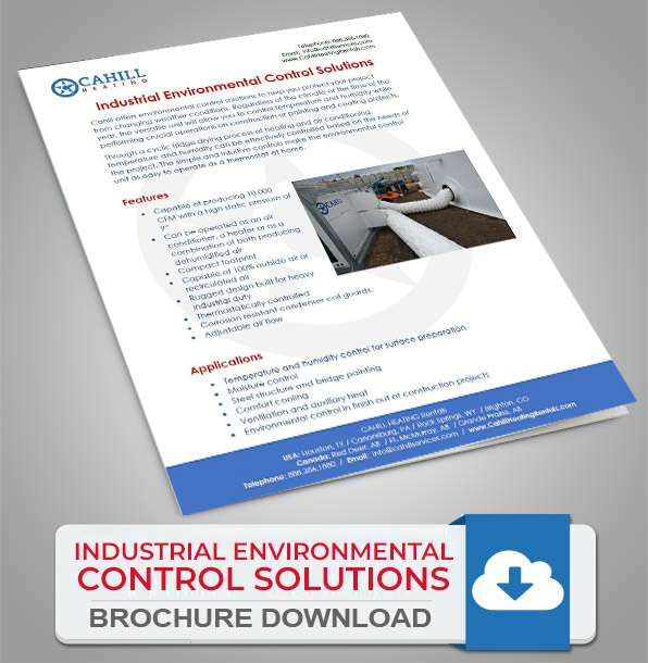 Cahill Industrial Environmental Control Solutions - Brochure Download
